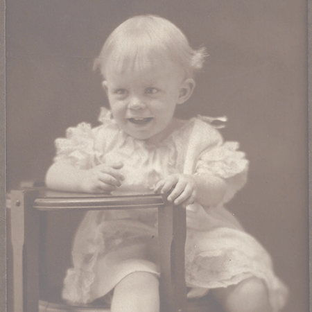 My Grandmother as a toddler