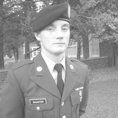 Sgt. Shuster, my son