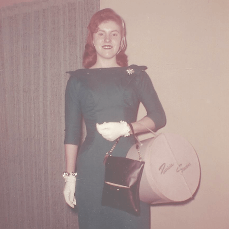 My Mother as a teenager
